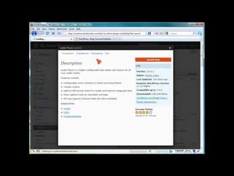 How to Add Streaming Audio in WordPress? (42) Wordpress Video Tutorials