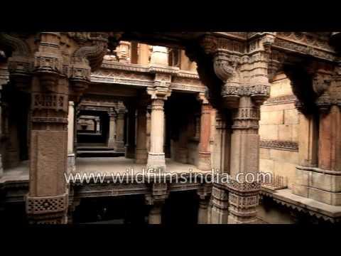Adalaj Stepwell: world famous Gujarat landmark