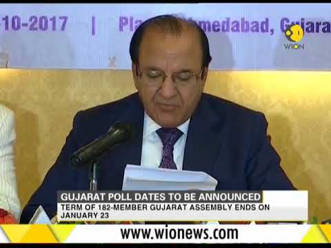India: Gujarat elections dates to be announced today