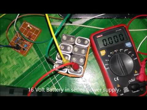 How to power 12 Mhz Crystal Oscillator / Resonator Frequency Circuit