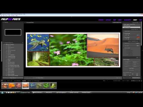 How to make a Facebook Wall cover in Lightroom 4