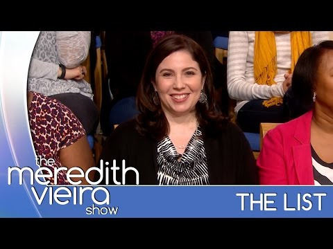 Does the G Spot Really Exist?: The List | The Meredith Vieira Show