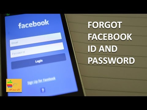 What if you forgot Facebook id and password