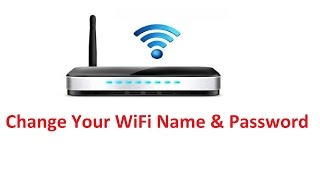 Change Wifi Name Password Howtosolveit