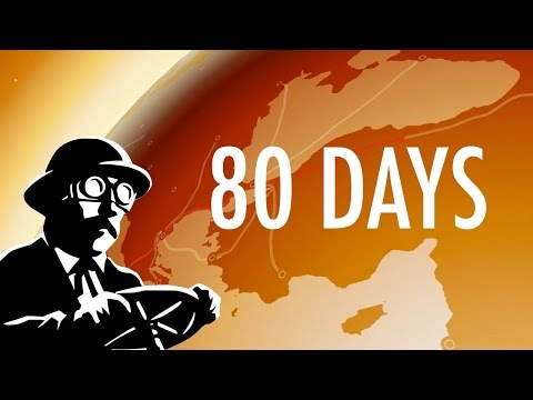 Let's play 80 days - part 5 -  Land of the Rising Sun