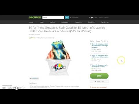 how to order off groupon