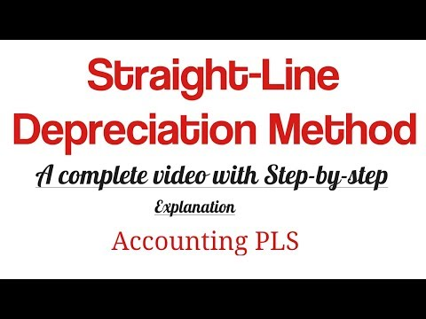 How to Calculate Straight Line Depreciation Method