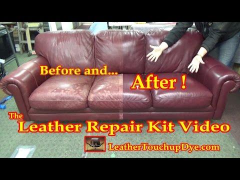 Leather Repair Kit Video*****