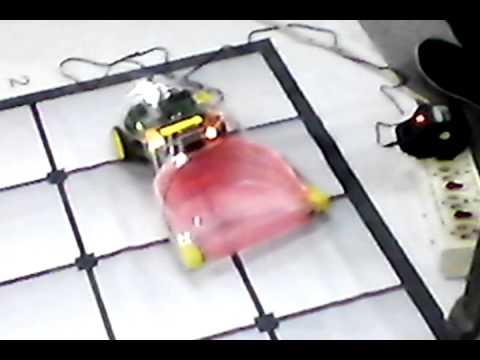 Room Cleaner Robot-IIT Mumbai Robotics Competition