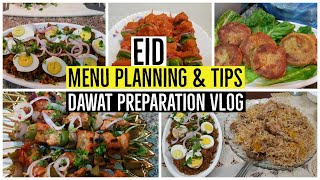 Dawat Preparation For 10 people/Menu Planning With Full Recipes/
