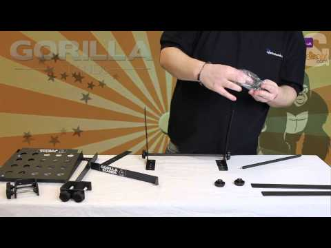How to Set Up a Gorilla Stands GLS 02 Laptop Stand with Shelf
