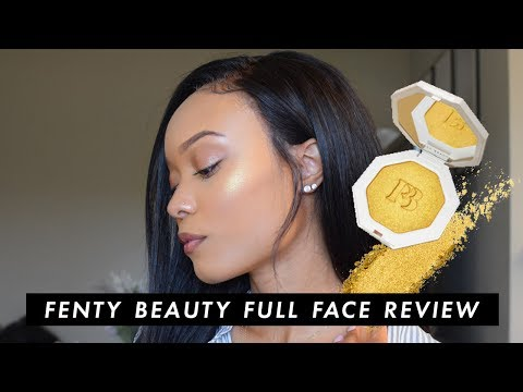 FENTY BEAUTY FULL FACE FIRST IMPRESSIONS/REVIEW - Shade 330 + TROPHY WIFE! | HEARTLICIA