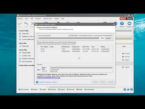 How to Recover Unallocated Partition with Data on It