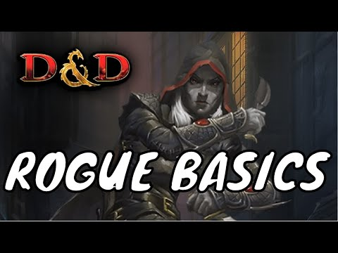 How to Play Dungeons and Dragons 5E Workshop: Rogue Basics #1