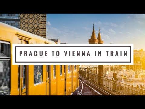 My maiden train journey from Prague to Vienna   Euro Rail   OBB