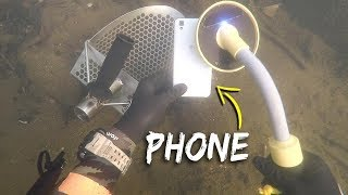 Metal Detecting Underwater for Lost Jewelry and Money! (Scuba Diving)