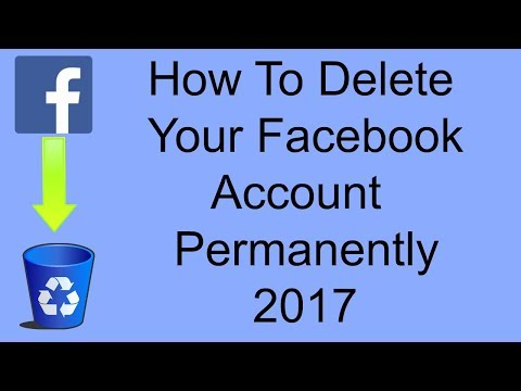How To Delete Your Facebook Account Permanently 2018 Easy Way
