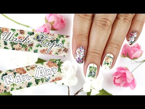 Washi Tape Nail Art & How To Remove It ♡