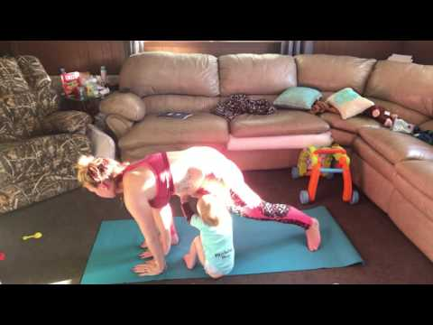 Yoga for a stay at home mom!