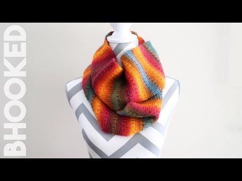 Knit-Alike Tunisian Crochet Scarf Tutorial