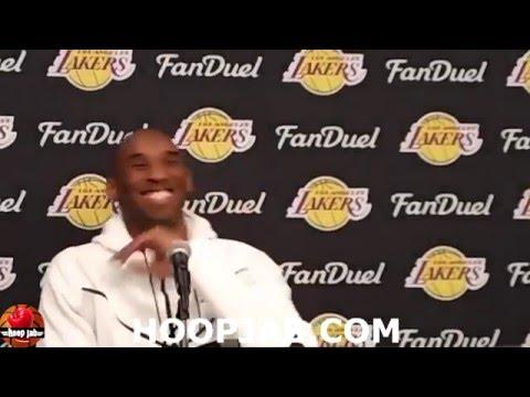 Kobe Bryant speaking in Spanish. HoopJab