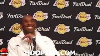 Kobe Bryant Speaking In Spanish Hoopjab