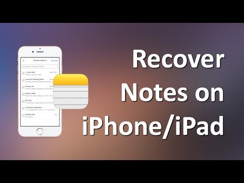 iPhone Notes Disappeared | How to Recover Deleted Notes on iPhone/iPad