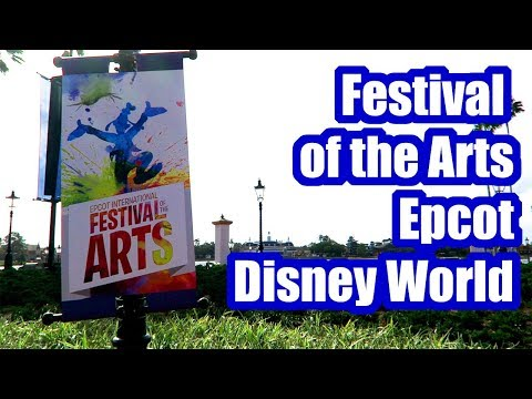 Festival of the Arts Fun at Epcot, Walt Disney World! January 2018, Day 2, Part 2