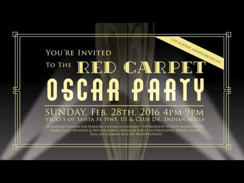 2nd Annual Variety the Children's Charity Red Carpet Oscar Party