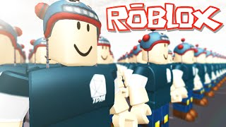 Roblox Adventures / Build to Protect Your Kid / DanTDM Army!!