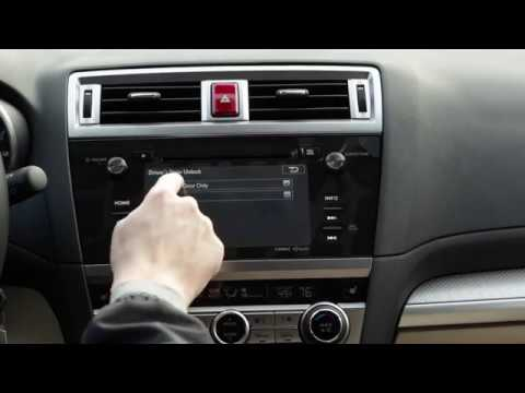 Subaru Door Lock Settings