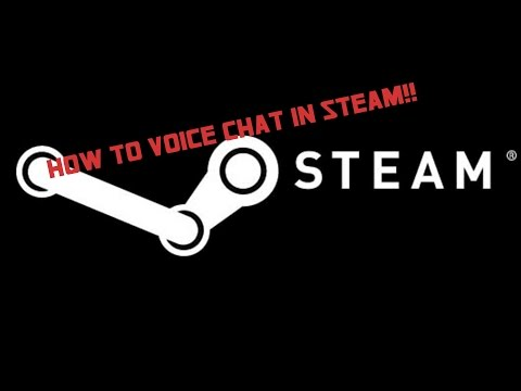 HOW TO USE STEAM'S BUILT IN VOICE CHAT *VIOCEOVER*
