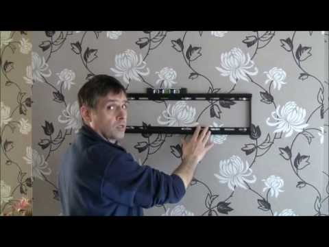 How to wall mount a flat screen tv, Hang Plasma, LCD, LED TV on Wall, TV Wall Mounting