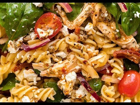 Pasta Salad with Chicken and Sun Dried Tomato