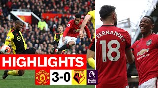 Highlights   Manchester United 3-0 Watford   Premier League 2019/20