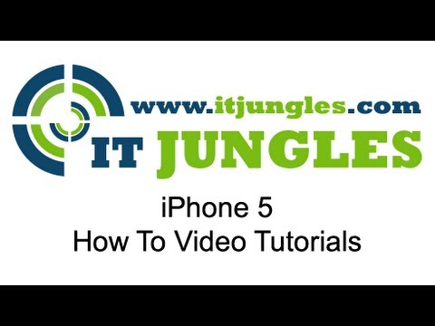 iPhone 5: How to Add Website Bookmark