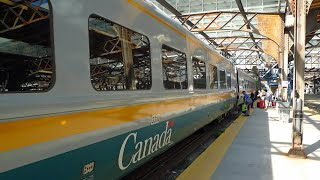 Toronto to Montreal by train with VIA Rail Canada