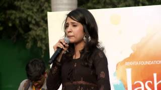 RJ Sayema - Alfaaz Aapke Aawaz Hamari | Jashn-e-Rekhta 2017