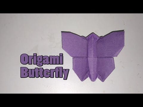 how to make a paper butterfly || Paper Butterflies || Origami Butterfly || Origami Easy
