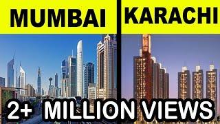mumbai vs karachi Full city comparison UNBIASED 2018  | mumbai vs karachi | natasha dixit