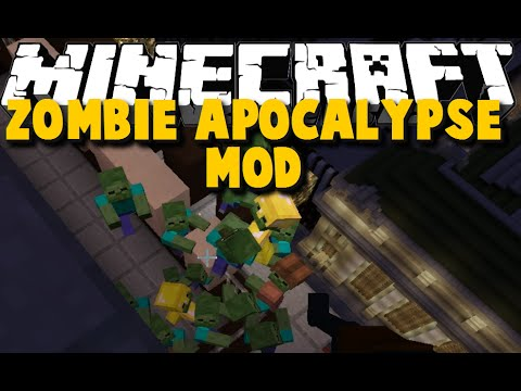 Minecraft: Zombie Apocalypse MOD SHOWCASE - SPECIAL AGENT 77 - Will he survive?!