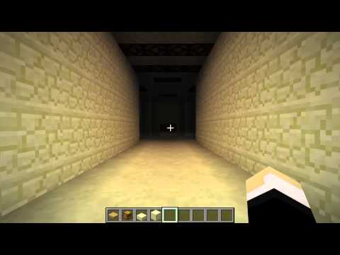 Minecraft Invisible Pressure Plate Example Usage