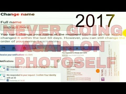 How to change name after limit[Double time Verified]$trong Account 2017{July special}✓✓✓