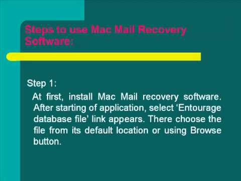 Fix Mac Mail corruption issues completely only in few minutes