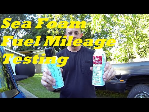 Sea Foam (Induction/Fuel System Cleaner) Fuel Mileage Test