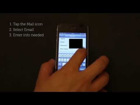 iPhone Basic School : How to add email account?