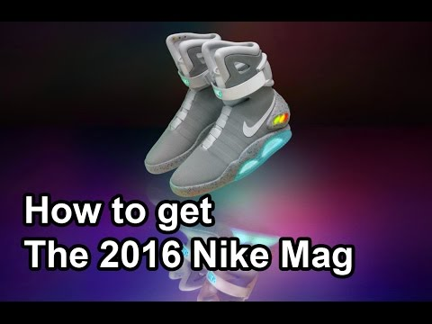 How, when and where to Win, Buy, Get - The 2016 Nike Mag a limited-edition release of 89 pairs.