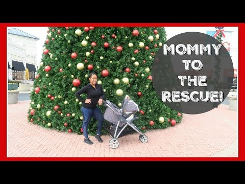 MOMMY TO THE RESCUE | Vlogmas Day 6