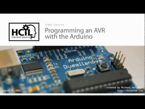 Programming AVR with Arduino [2012]