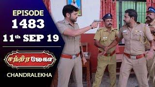 CHANDRALEKHA Serial   Episode 1483   11th Sep 2019   Shwetha   Dhanush   Nagasri   Arun   Shyam